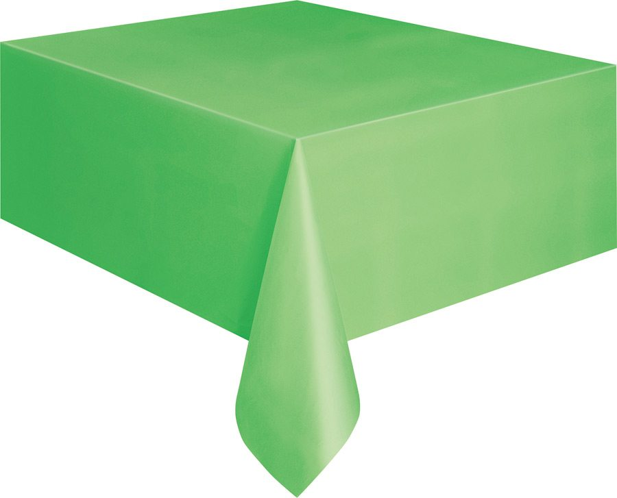 Large Green Plastic Table Cover 9ft X 4 5ft Fabulous Partyware